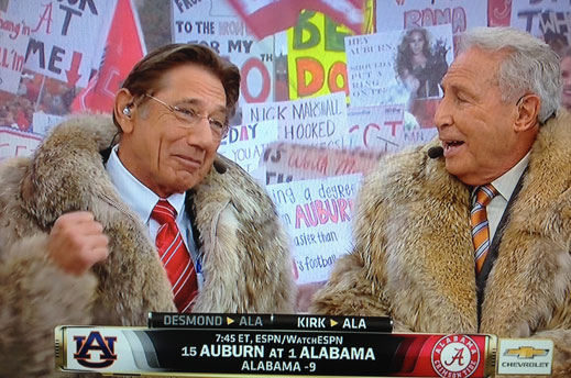 Joe and Lee on College GameDay