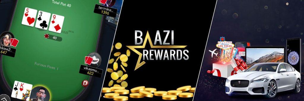 PokerBaazi Cash rewards
